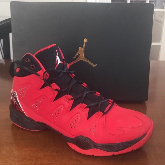 "3dd81b335cfe5b Jordan Other - JORDAN MELO M10  ""FIRE RED"""